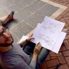 Drawing in Alfara del Patriarca