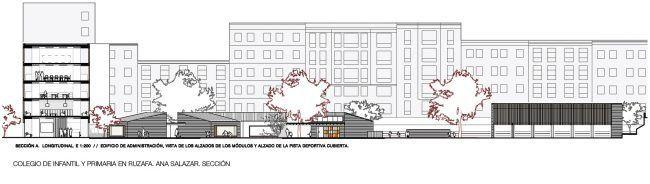 ANA SALAZAR_Colegio de infantil y primaria en Ruzafa_Sección/School in Ruzafa_Section