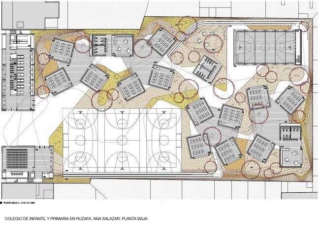 ANA SALAZAR_Colegio de infantil y primaria en Ruzafa_Planta Primera/School in Ruzafa_First floor