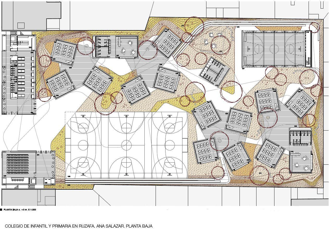 Floor Plan Interior Arquitectura Proyecto Final De Carrera Ana Salazar