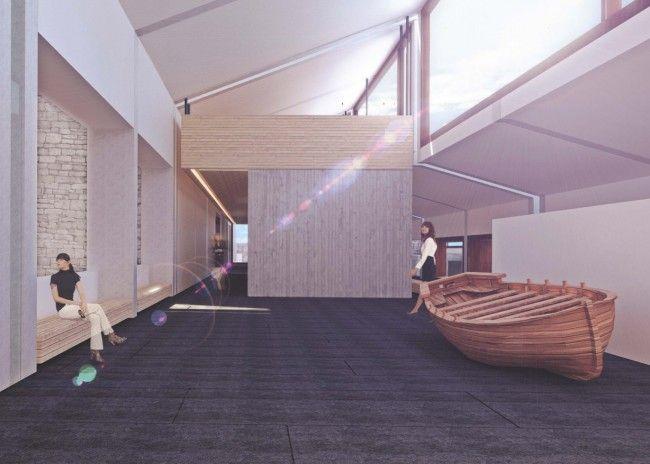 PEDRO TERRADES_Museo Vasco da Gama en Oporto_Perspectiva
