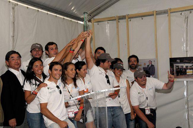 En el Solar Decathlon Europe, con la CEU-UCH