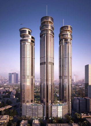 Torres residenciales en Worli