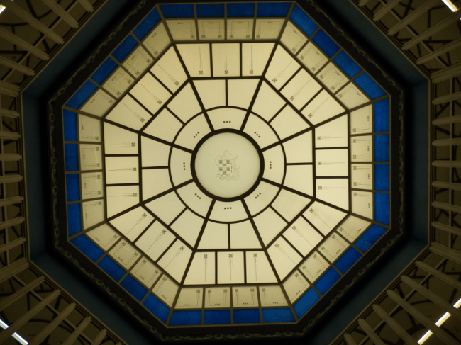 Dome detail in Colomina Palace