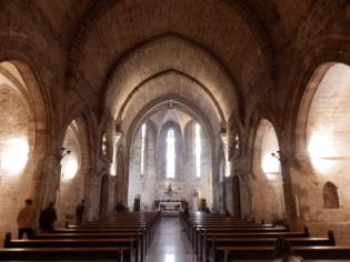 Interior de la Iglesia de San Juan del Hospital