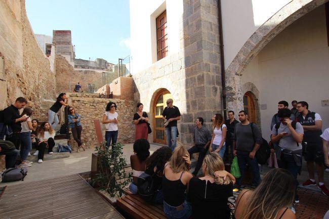 Students visit Sagunto
