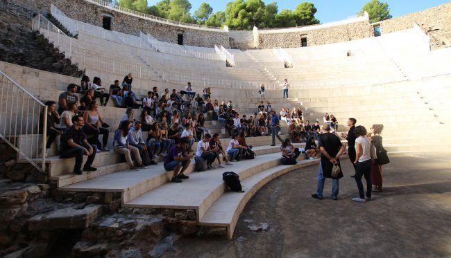 The Roman Theatre in historical Sagunto