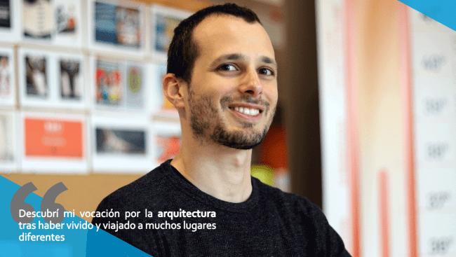 Estudiante de arquitectura de CEU Valencia