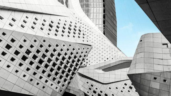 Building by Zaha Hadid