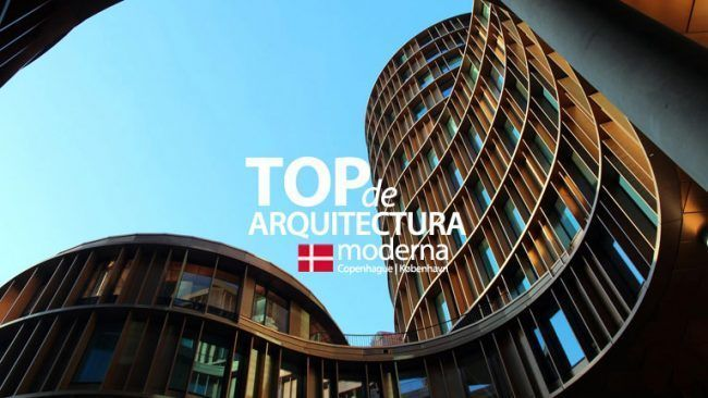 Top de edificios modernos en Copenhague