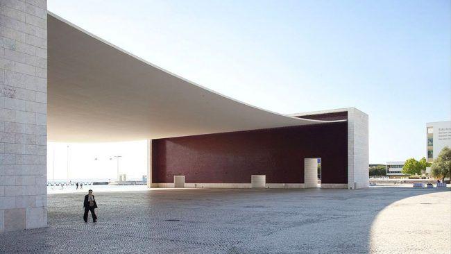 Pabellón de Portugal de la Expo 98, obra de Álvaro Siza