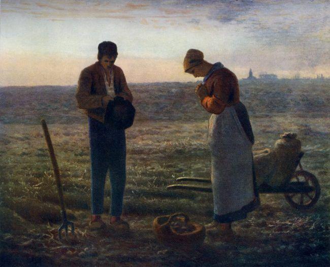 """""""El Angelus"""", de Jean François Millet"""