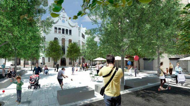 Uno de los proyectos de EFGarquitectura para la mejora de la movilidad en Valencia