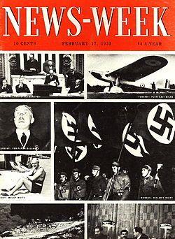 Primera portada de la revista Newsweek