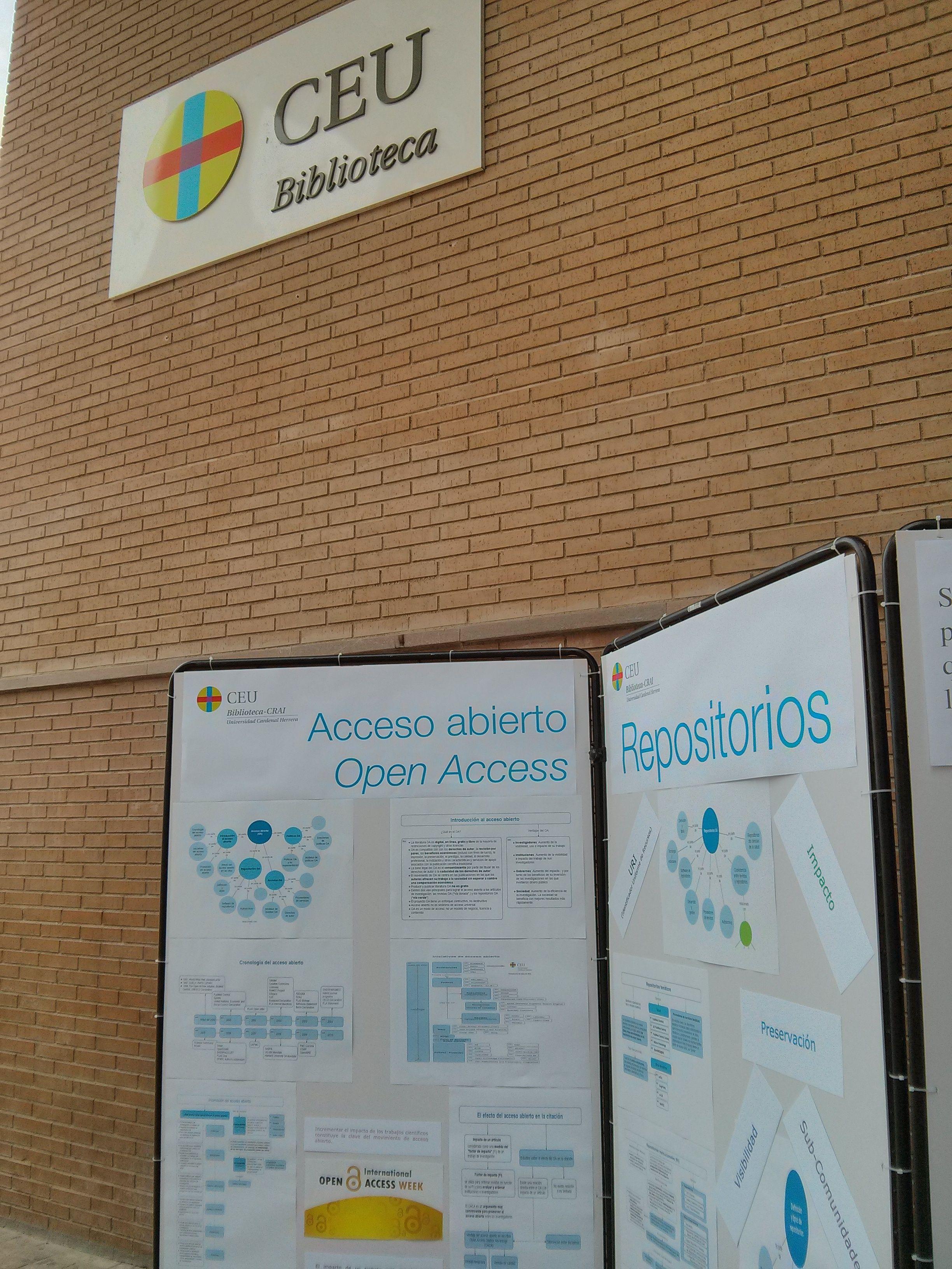 Visita nuestro panel sobre Acceso Abierto