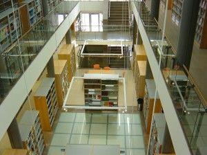 Vue d'ensemble de la Bibliothèque -CRAI