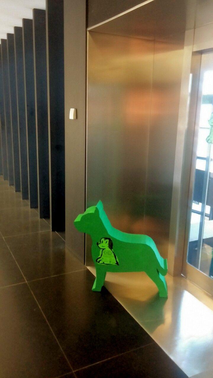 Los perros verdes llegan a la Biblioteca de Castellón