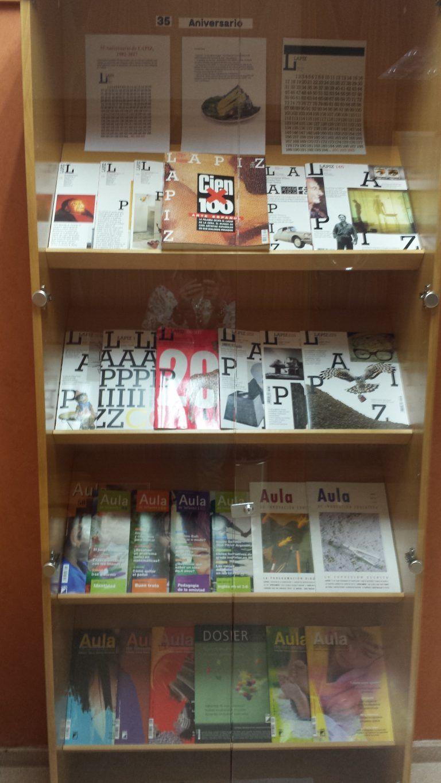 Aniversario de la revista Lápiz y las revistas de la editorial Graó