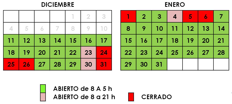 Horario extraordinario Castellón
