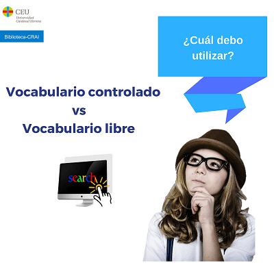 vocabulario controlado vs vocabulario libre