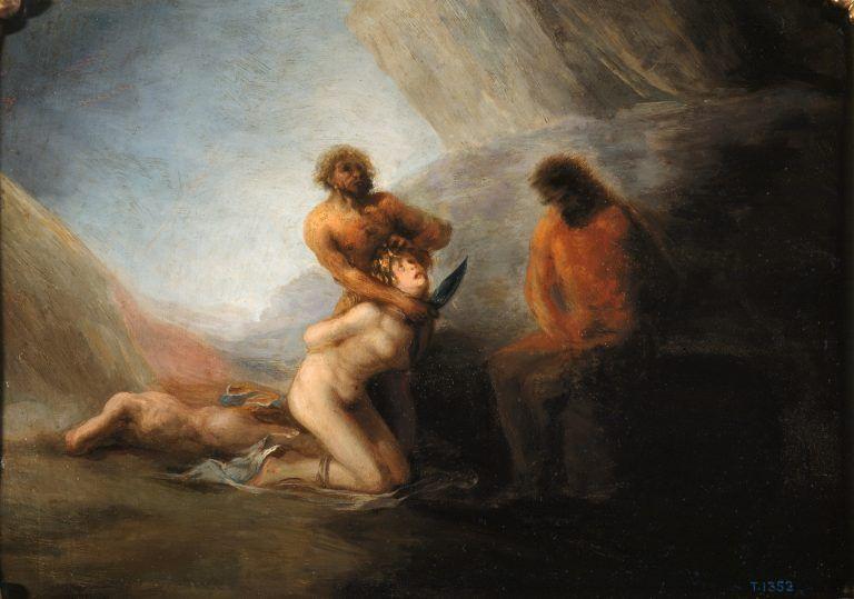 """Violencia de género en la pintura """"200 años del Museo del Prado"""""""