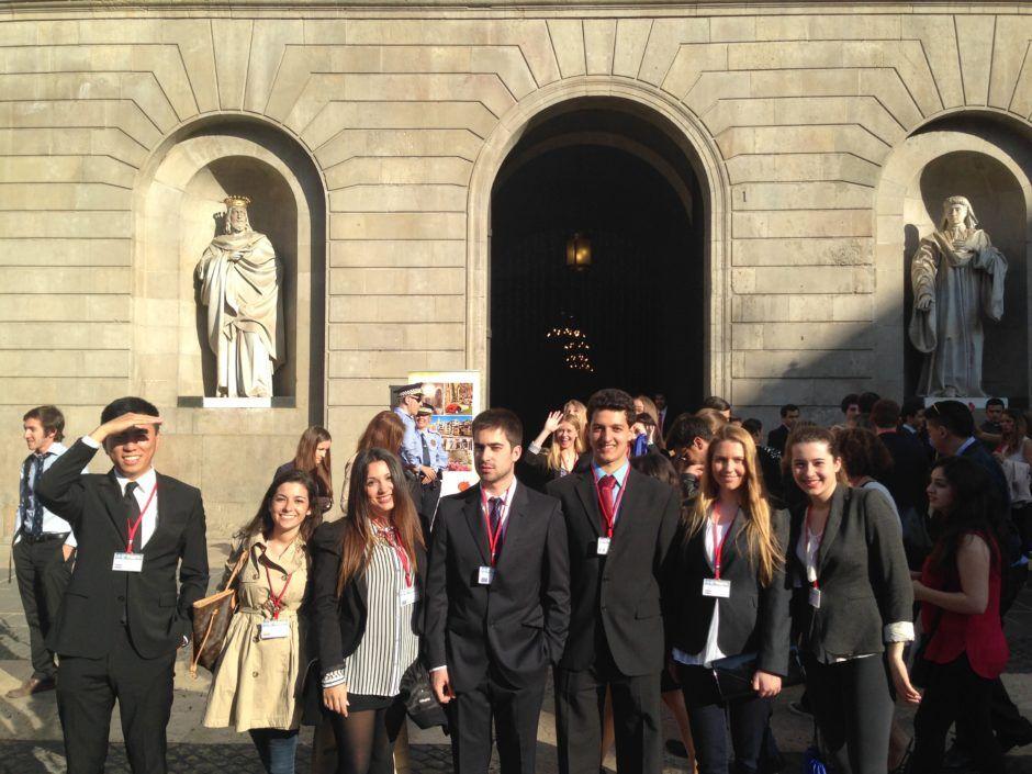Estudiantes del CEU en Navarra