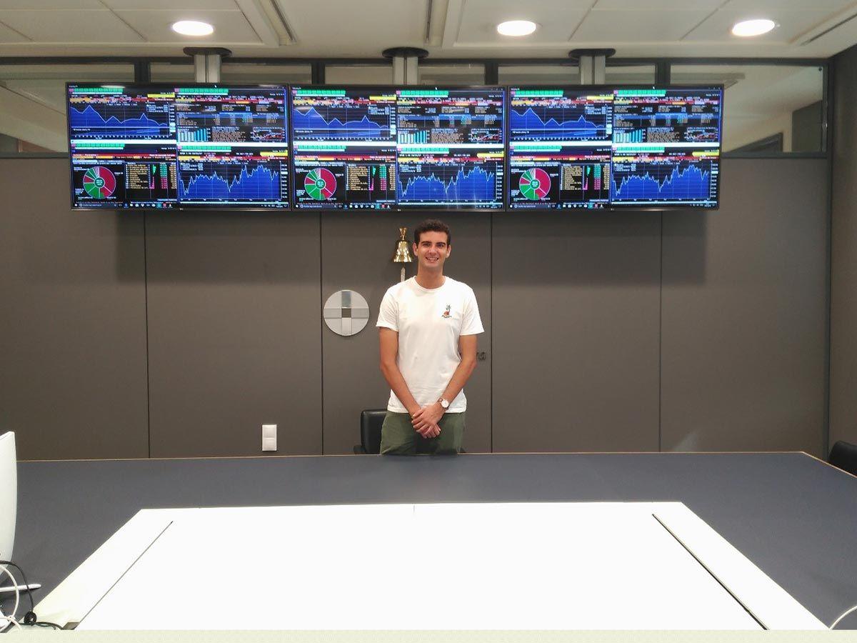 Carlos - Aula de Bloomberg CEU