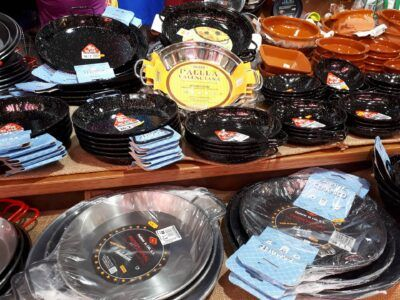 Paellera- paella pan