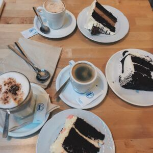 Treat yourself when you deserve it for example, after studying all day!