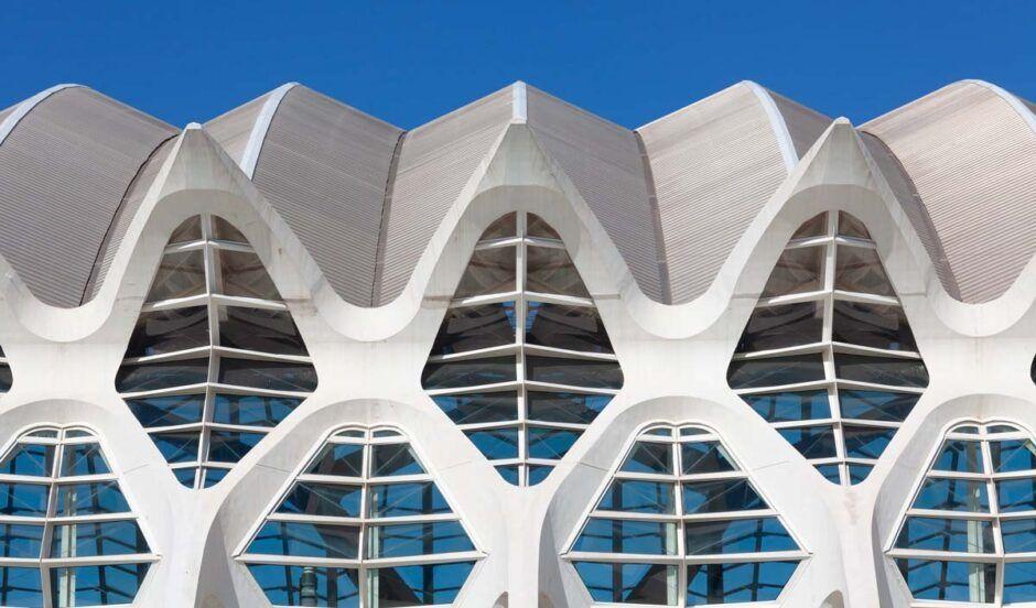 Vista de la Ciudad de las Artes de Valencia
