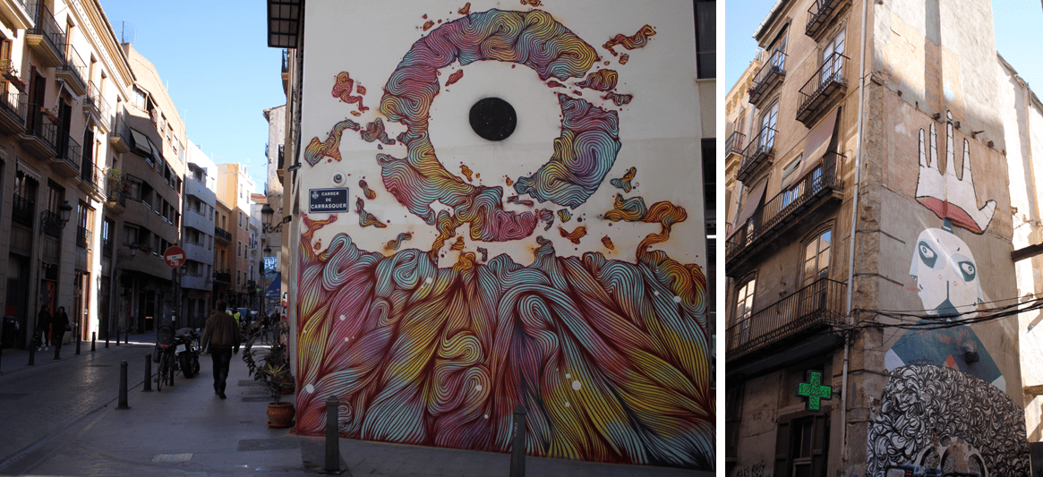 Valencia has become a paradise of artists and graffiti lovers