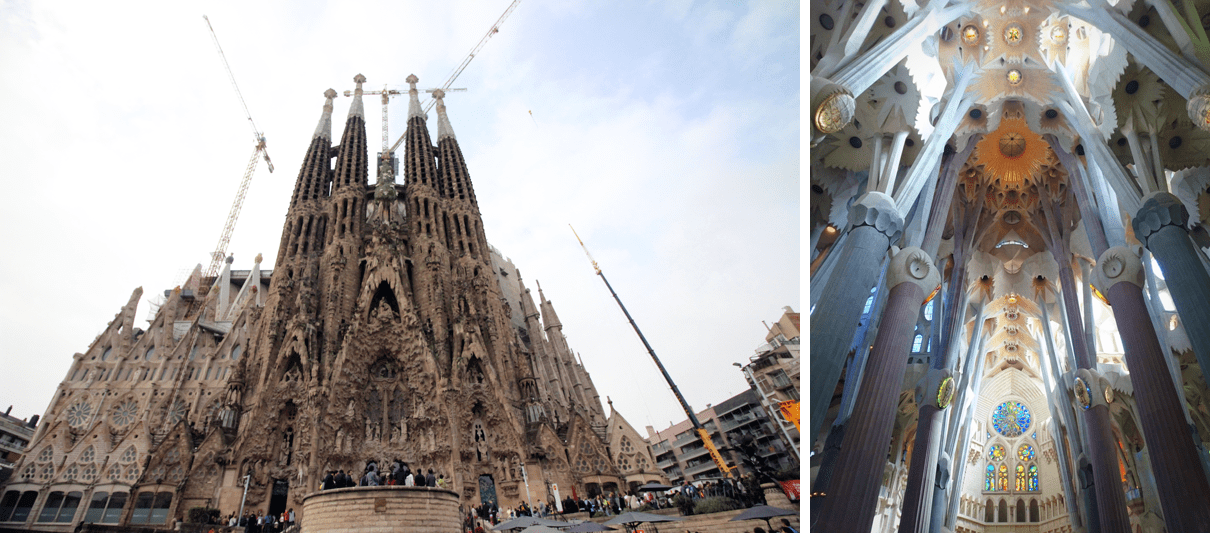 Even though it is still unfinished, La Sagrada Familia will leave you speechless.