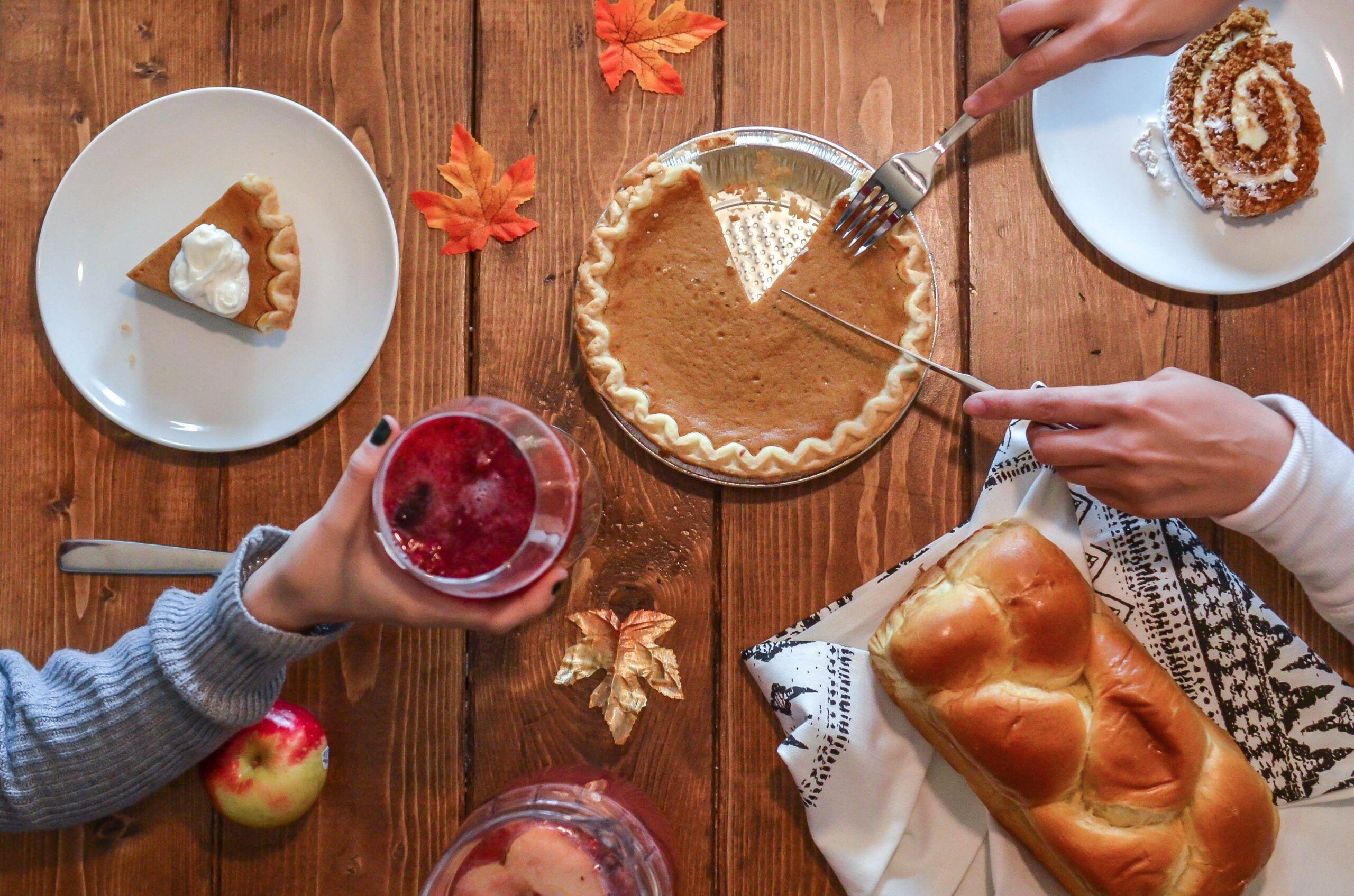Traditional pumpkin pie!