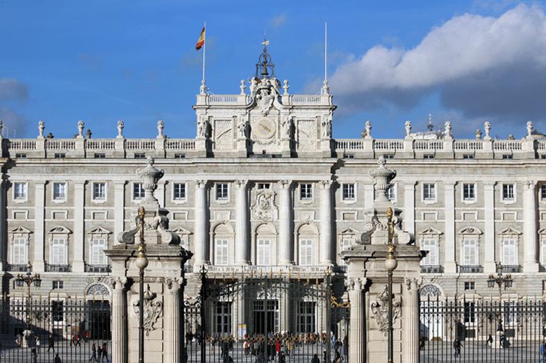 Entrance to the Royal Palace.