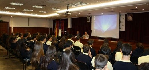 Charla a los jóvenes estudiantes del Colegio CEU San Pablo de Valencia sobre emprender