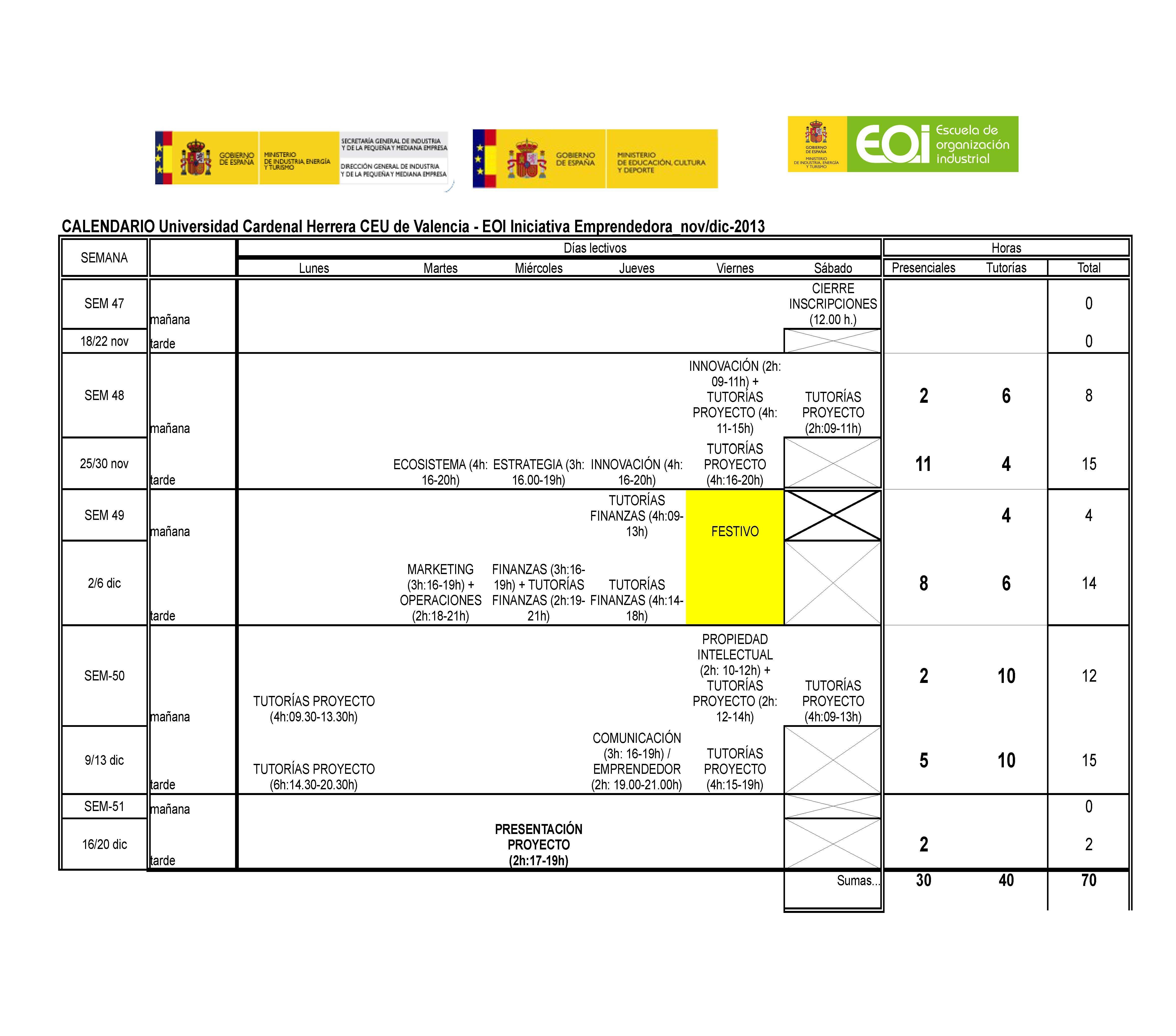 CALENDARIO UCH-CEU - EOI Emprendedor Universitario 2_novdic-2013 (2)