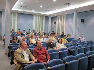 Asistentes a la última sesión del Cine forum