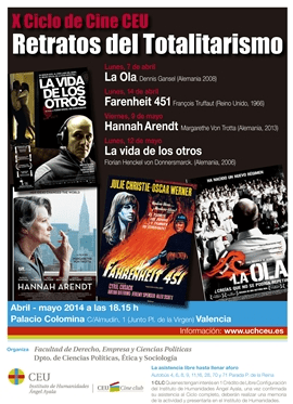 Cartel Cine Forum 2014