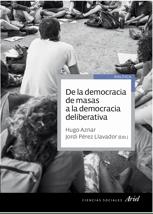 """Portada del libro """"De la democracia de masas a la democracia deliberativa"""""""