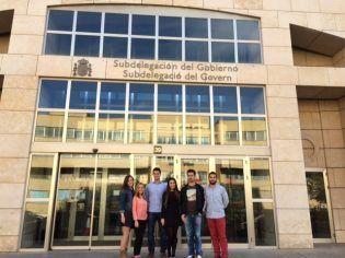 Alumnos de 4º de CC.PP. visitan la Subdelegación de Gobierno