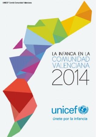 Portada informe UNICEF: La infancia en la Comunidad Valenciana 2014