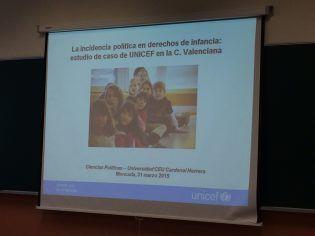 La incidencia política en derechos de infancia: estudio de caso de UNICEF en la C. Valenciana