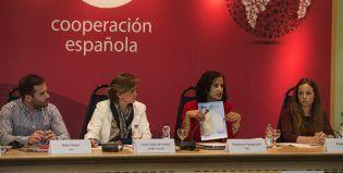 Mateo Baeza, en la sesión informativa de AECID
