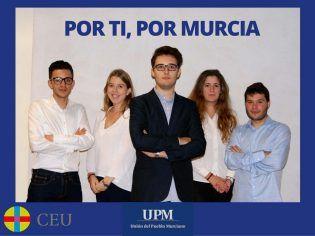 El equipo de Unión del Pueblo Murciano