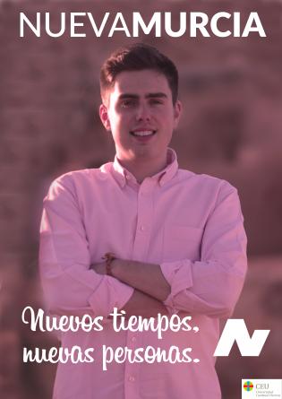 Pau March, candidato por Nueva Murcia