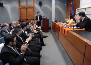 Acto de imposición de becas de la XIII promoción de Ciencias Políticas CEU UCH