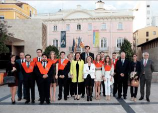 XIII Promoción de graduados en Ciencias Políticas CEU UCH