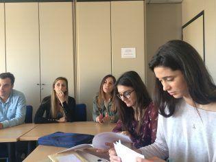 Los alumnos de Ciencias Políticas preguntan a los expertos sus curiosidades y dudas