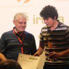 Joecar Hanna Zhang, nombrado mejor alumno CEU de la 8ª edición de Proyecta junto a Javier Torres, Presidente Fundación Carolina Torres Palero
