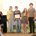 Equipo ganador del primer premio de la Categoría de Spots